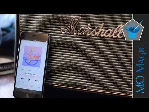 Woburn is the Largest, Loudest Marshall Bluetooth Speaker – Review