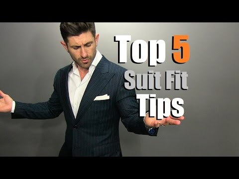 TOP 5 Suit Fit Tips | How To Buy A PERFECT Fitting Suit Online Mp3