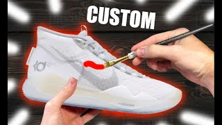Customizing YOUTUBE Shoes! - Jordan Vincent