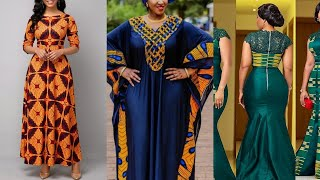 SUPER STYLISH LONG #ANKARA DRESSES AND STYLES FOR THE WEEKEND
