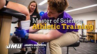 Master Of Science In Athletic Training Program At JMU