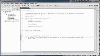 Java Programming: 5 - Variable Scope