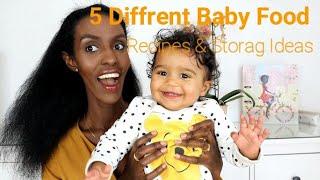 ||የህፃናት ምግቦች 5 አይነት አዘገጃጀትና የማቆያ ዘዴ  |5 Diffrent Baby Food Storage Ideas ||DenkeneshEthiopia |ድንቅነሽ