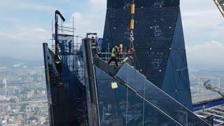 This is the new BILLION DOLLAR MEGA TOWER in Kuala Lumpur, MALAYSIA - Merdeka 118 Tower! [MALAY SUB]