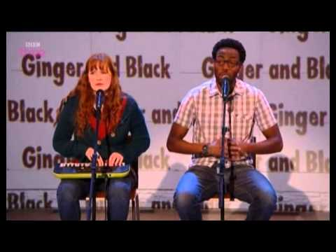 Ginger and Black on Russell Howard's Good News