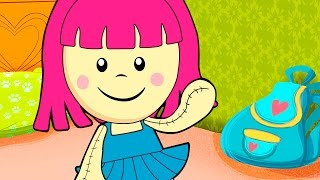 The dolly dressed up all in blue | Kids Song | Clap clap kids