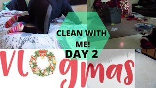 EXTREME CLEANING MOTIVATION | CLEAN WITH ME | VLOGMAS DAY 2