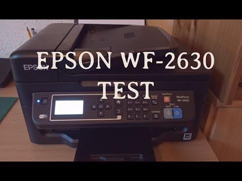 EPSON WF 2630 Test Drucker sparsam