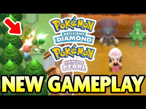 , title : 'NEW EXCLUSIVE GAMEPLAY FOOTAGE! Exp Share, Shinies and More! Pokemon Brilliant Diamond Shining Pearl'