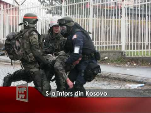 S-a întors din Kosovo
