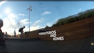 preview picture of video 'Forasteros & Homies- Skateboarding Valladolid'