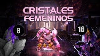 24 Cristales Femeninos Maravillosos! | Marvel Contest Of Champions