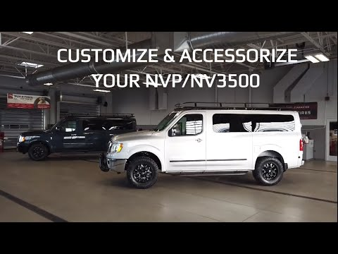CUSTOMIZE AND ACCESSORIZE YOUR NV3500 4WD CONVERSION VAN 4X4