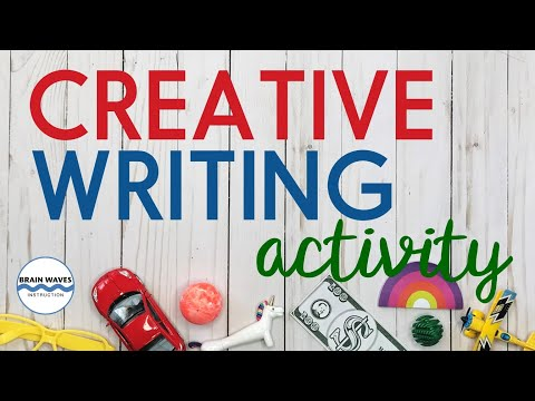 Creative Writing Prompt Video - Writing Activity and Lesson