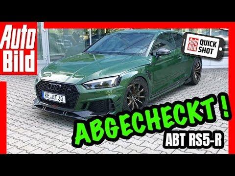 Abt RS5-R: Testfahrt im 530 PS starken Audi - Details/Test/Review