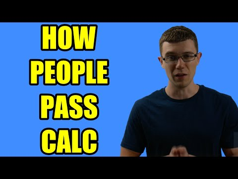 Why Students PASS Calculus (How to Pass Calculus)