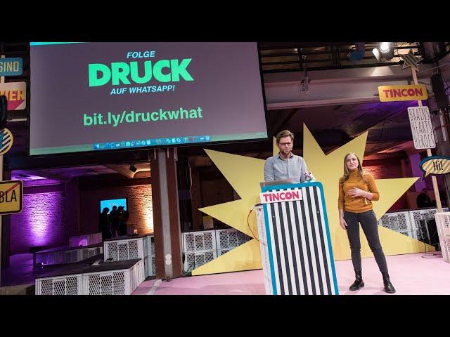 Vorschaubild zur Session 'DRUCK - Die erste Echtzeit-Serie mit Eigenleben'