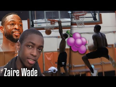 How Dwyane Wade SON Trains for CRAZY Handles!! Zaire Wade
