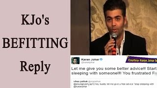 Karan Johar Slams Twitter Troll Asking Anurag Kashyap To Stop Sleeping With Him  FilmiBeat