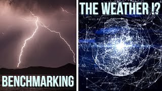 Do Bad Weather and Storms REALLY Affect Internet Connections?? - Let's Benchmark the weather!