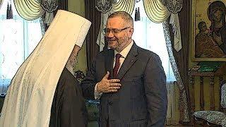 РПЦ в Украине агитирует за прокремлевского кандидата