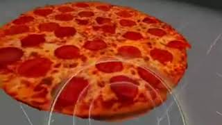 VR English Lesson from a Pizza