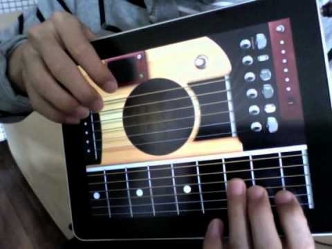Guitar App Which Allows To Play Chords On Screen Fretboard