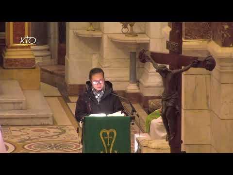 Messe du 11 janvier 2021 à Notre-Dame de la Garde