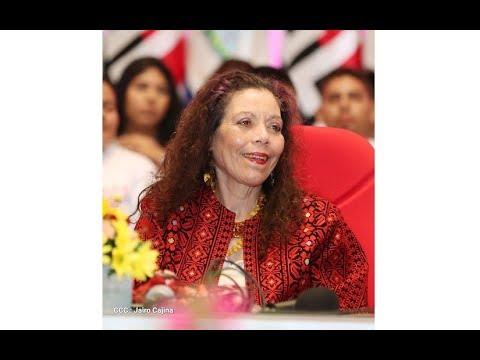 Compañera Rosario destaca el legado de Sandino reflejado en el pueblo nicaragüense