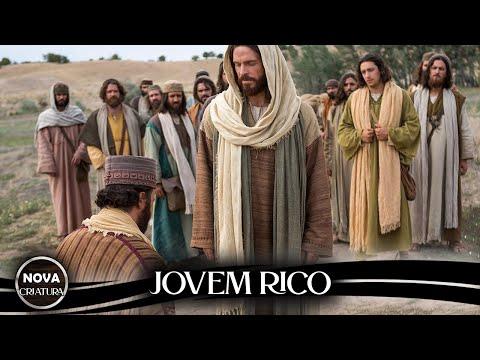 Cristo e o jovem rico   parbolas da bblia   jesus e o jovem rico   vdeos da bblia