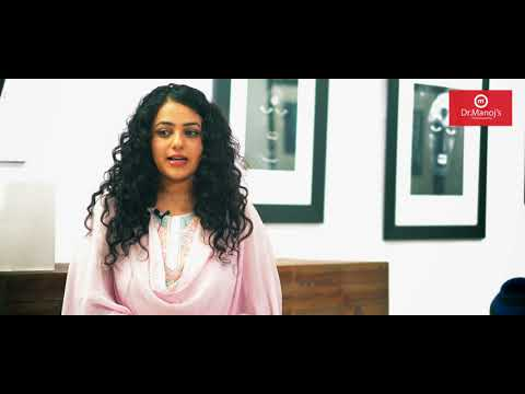 Actress Nithya Menon On Homeopathic treatment at Dr. Manojs Homeopathy