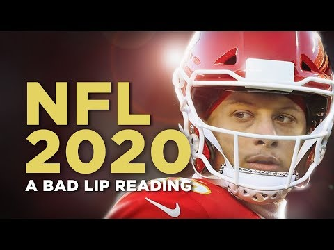 NFL 2020 — A Bad Lip Reading