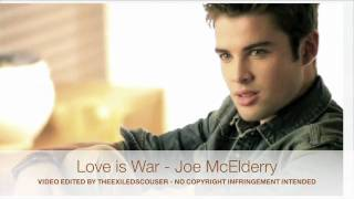 Joe McElderry - Love Is War - G Force (TheExiledScouser)