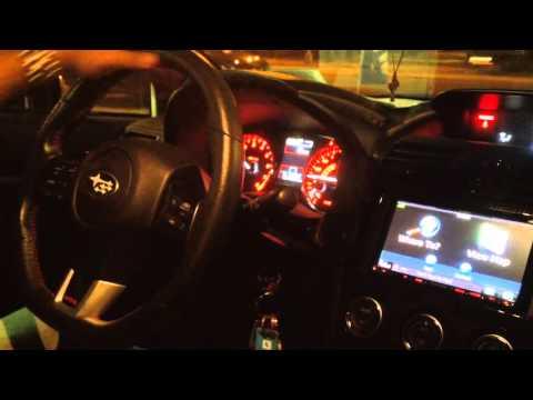2015 Subaru WRX STI Kenwood Navigation System - смотреть