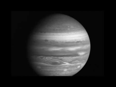 Voyager 2 Jupiter approach movie
