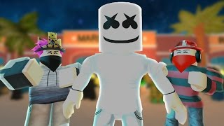 Gambar cover ROBLOX BULLY STORY - Alone (Marshmello)