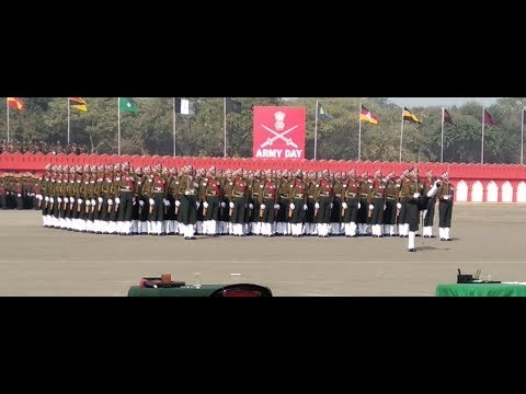 Amazing march Indian Army 2019