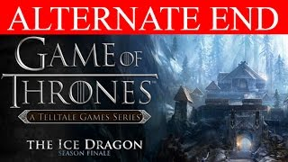 Game of Thrones Episode 6 Alternate Choices Ending The Ice Dragon PC Gameplay 1080p No Commentary
