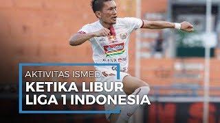 Aktivitas Ismed Sofyan ketika Libur Liga 1 Indonesia, Pulang ke Aceh dan Membajak Sawah