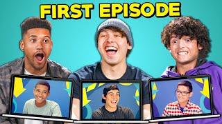 College Kids React To Their FIRST EPISODE Of Teens React (Darius, Alberto, Carlos) | Reactception