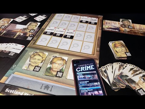 One Board Family Review: Chronicles of Crime