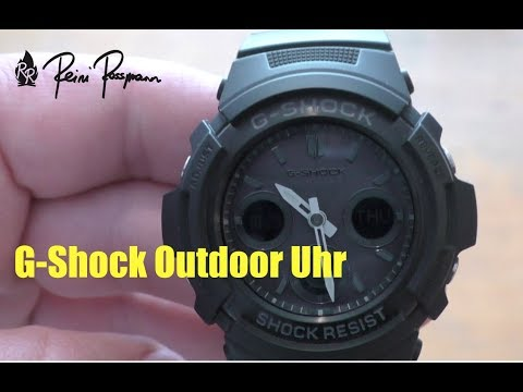 Casio G-Shock Outdoor Uhr AWG-M100B