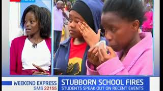 Youth on school fires: Students speak out on recent unfortunate events