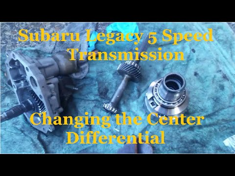 How to Change the Center Differential in a Subaru 5 speed Transmission