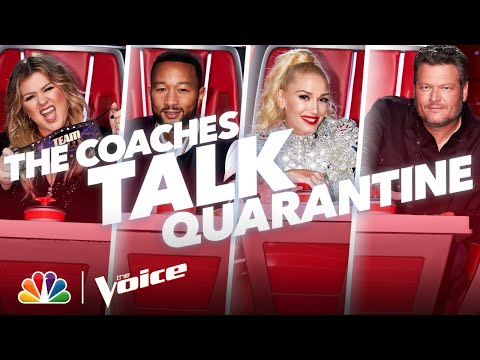 Blake, Gwen, John and Kelly Share Their Quarantine Routines – The Voice 2020
