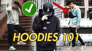 How To | STYLE HOODIES (Streetwear)