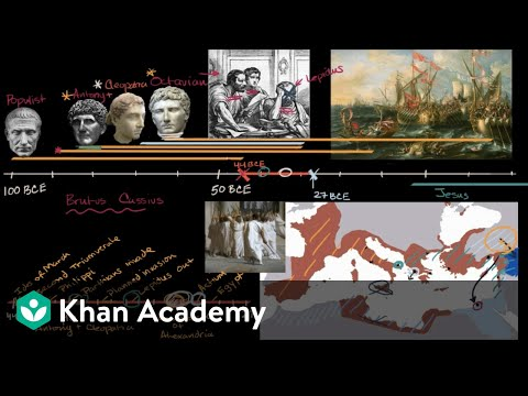 Augustus And The Roman Empire Video Khan Academy