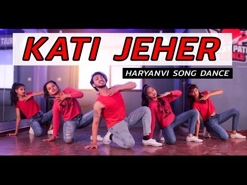 Download Kati Jeher - कत्ती जहर | Haryanvi Song Dance | Vicky Patel Choreography HD Mp4 3GP Video and MP3