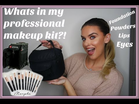 How I became a professional makeup artist/ Whats in my kit