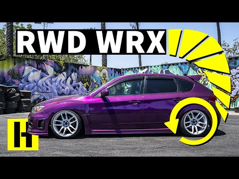 Rear Wheel Drive Subaru WRX!? Ex-Stance Kid Goes Drifting